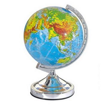Desktop education world globe from manufacturereworld globe light 20cm topography education world globe gumiabroncs Choice Image