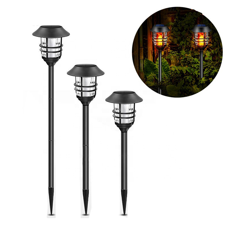 Outdoor tall solar flame torch light,Solar Flame Torch Light