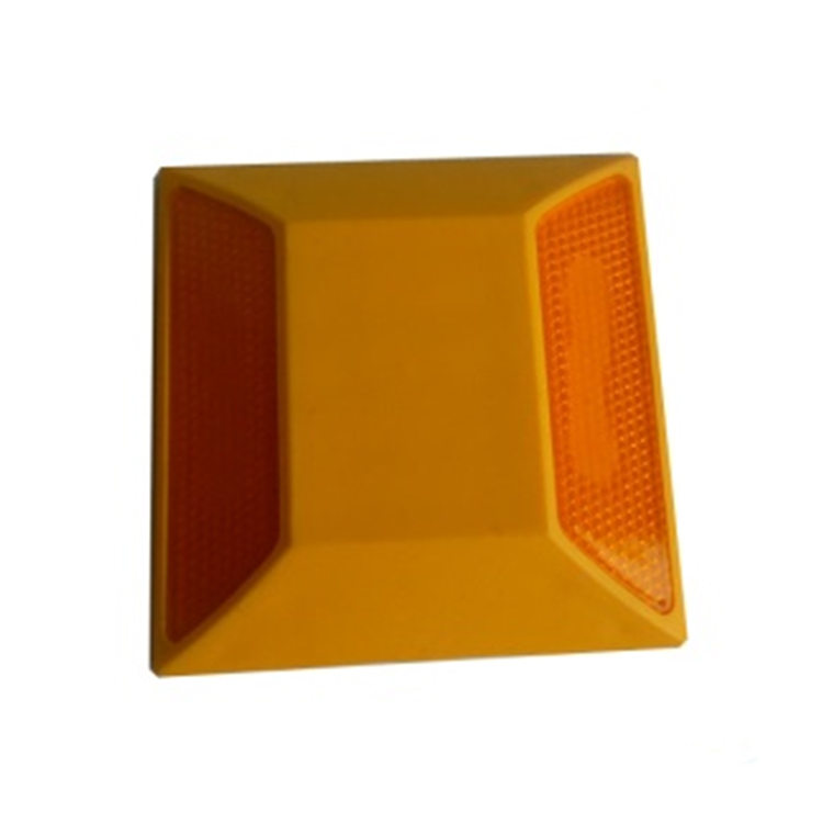 Plastic Reflective Road Stud,Durable Plastic Reflective Road Markers,Plastic Pavement Marker Cat Eye